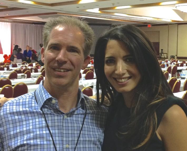 Marie Forleo and David Jensen